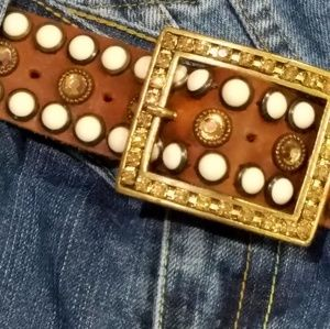 Accessories - Can you rock this 🌻Western Style Leather Belt🌻
